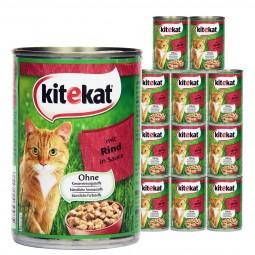 Kitekat Katzen-Nassfutter in Soße 12x400g