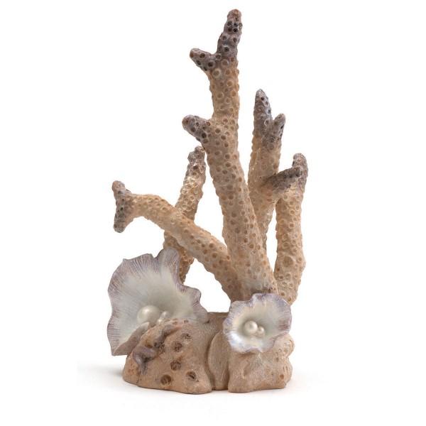 biOrb Aquariumdekoration Korallenskulptur pink