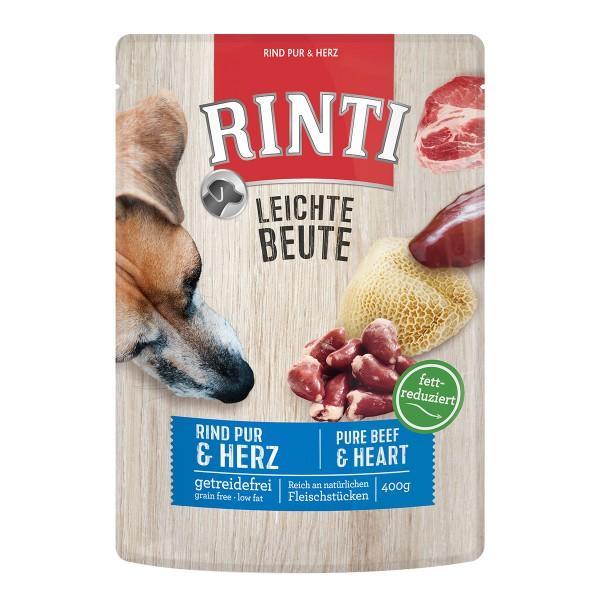 Rinti Leichte Beute Rind pur + Geflügelherzen