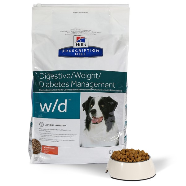 Hill's Prescription Diet w/d Digestive/Weight/Diabetes Management mit Huhn