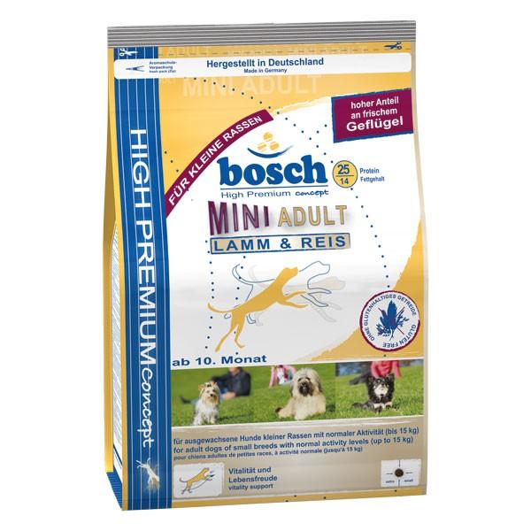 bosch Tiernahrung Bosch Mini Adult Lamm & Reis Hundefutter - 1kg