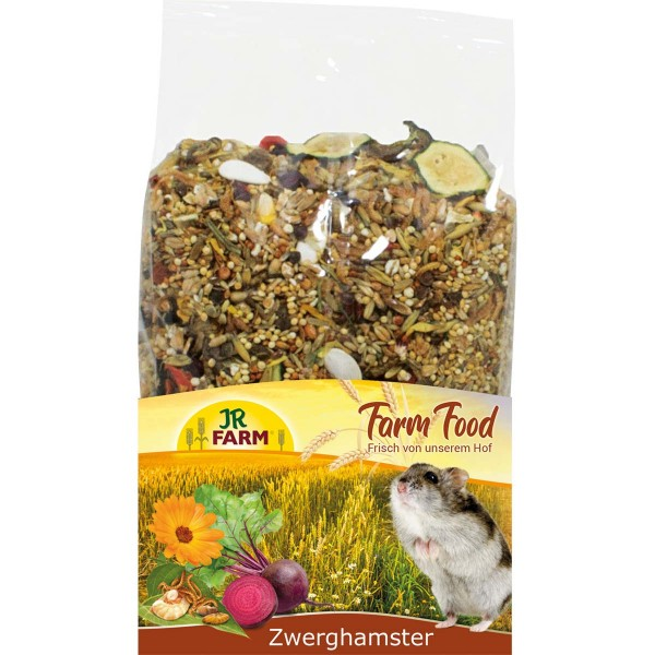 JR Farm Food Zwerghamster Adult 500g
