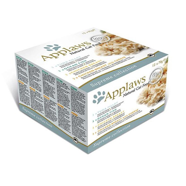 Applaws Cat Supreme Selection 12x70g