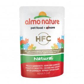 Almo Nature HFC Nature Value Pack 6x55g Huhn und Garnelen