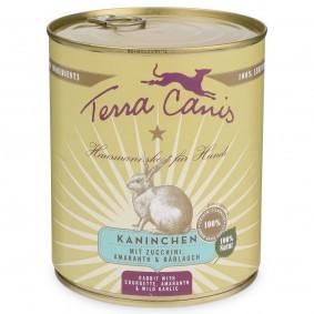 Terra Canis Kaninchen mit Amaranth, Zucchini & Bärlauch