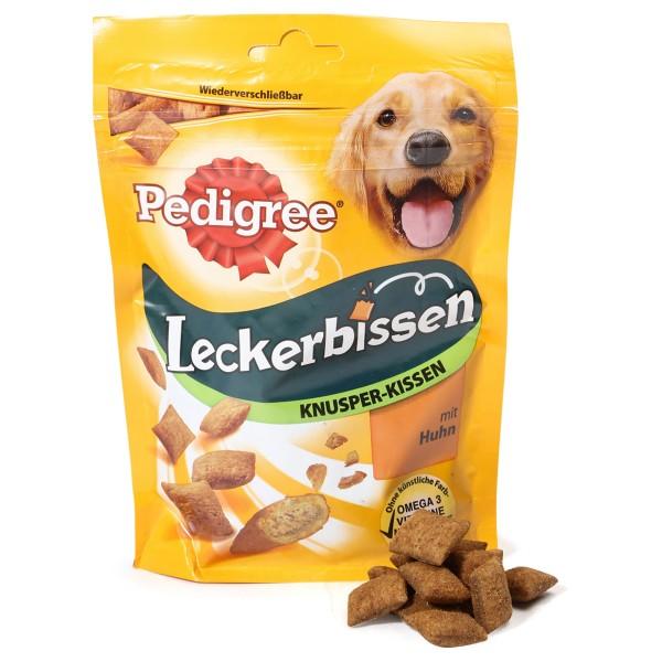 Pedigree Leckerbissen Knusper-Kissen mit Huhn