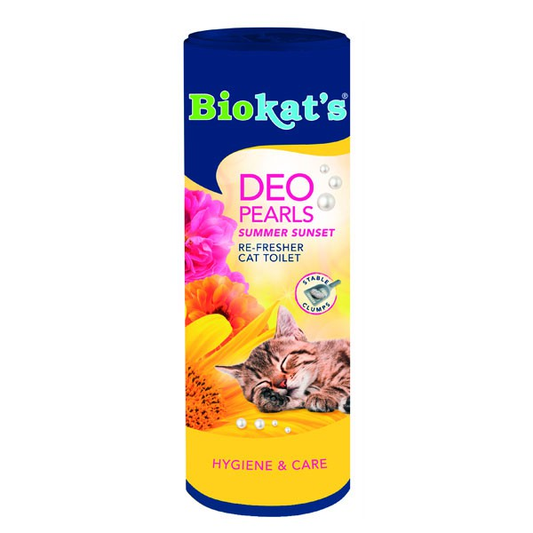 Biokat's Deo Pearls Summer Sunset 700g