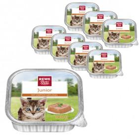 REWE Beste Wahl Katzenfutter Junior mit Geflügel