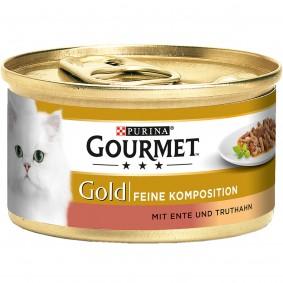 Gourmet Gold Feine Komposition Ente&Truthahn