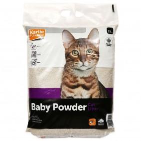 Karlie Cat Litter Katzenstreu mit Babypuderduft 15kg