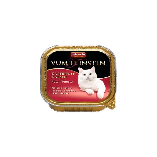 Animonda Vom Feinsten für kastrierte Katzen Pute und Tomate 100g