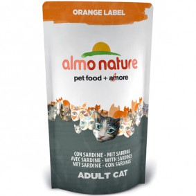 Almo Nature Orange Label Dry Sardelle