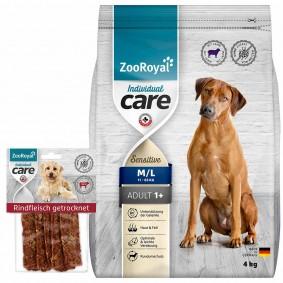 ZooRoyal Individual Care Sensitiv Lamm 4kg + Snack gratis