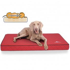 Knuffelwuff orthopädische Hundematte Juna rot