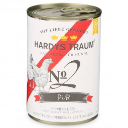 Hardys Traum Hundefutter Pur No. 2 Huhn