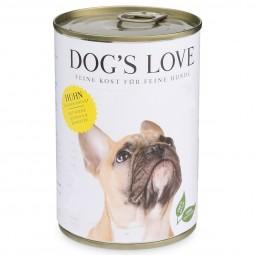 Dog's Love Futter Classic Huhn mit Birne, Quinoa & Karotte