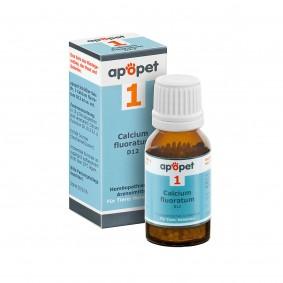 apopet Schüßler Salz Nr. 1 Calcium fluoratum D12