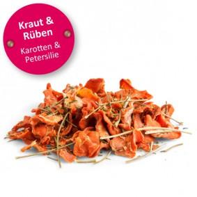Bunny Lust auf Natur KRAUT & RÜBEN - Karotten & Petersilie 50g