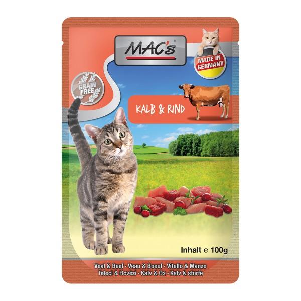 MAC's Cat Pouchpack Kalb, Rind und Cranberry