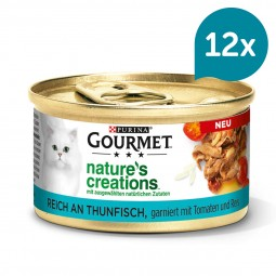 GOURMET Nature's Creations reich an Thunfisch