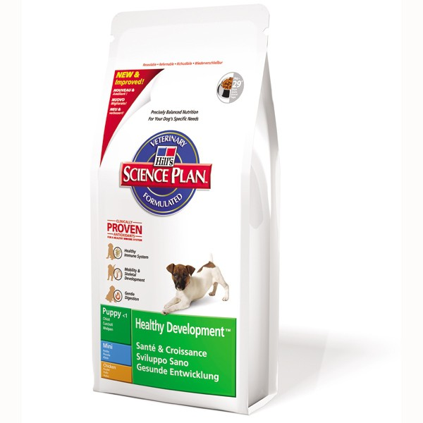 Hill´´s Pet Nutrition GmbH Canine Puppy Mini mit Huhn - 3kg