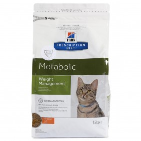 Hill's Prescription Diet Metabolic Weight Management Katzenfutter mit Huhn
