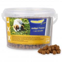 Caniland Hundesnack Soft Trainingshappen XXL Geflügel 2kg