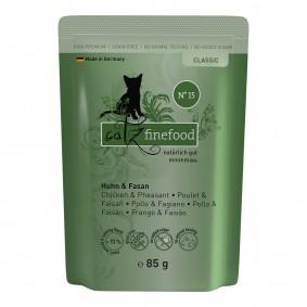catz finefood - No. 15 Huhn & Fasan 16x85g