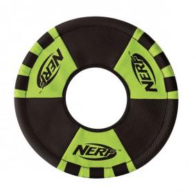 NERF Zieh-Wurfring Rot/Grün 22,8cm