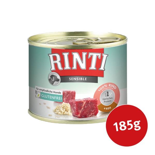 Rinti Hunde-Nassfutter Sensible Rind und Reis