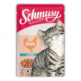 Schmusy Ragout mit Huhn in Sauce