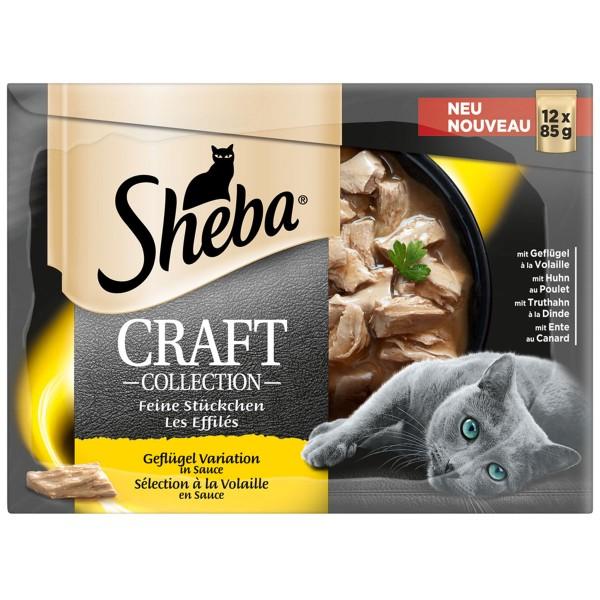 Sheba Craft Collection Geflügel Variation 12x85g