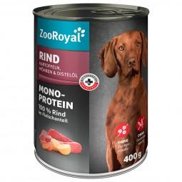ZooRoyal Mono-Protein mit Rind und Kartoffeln