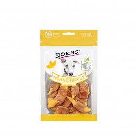 Dokas Hundesnack Hühnerbrust mit Mango 70g