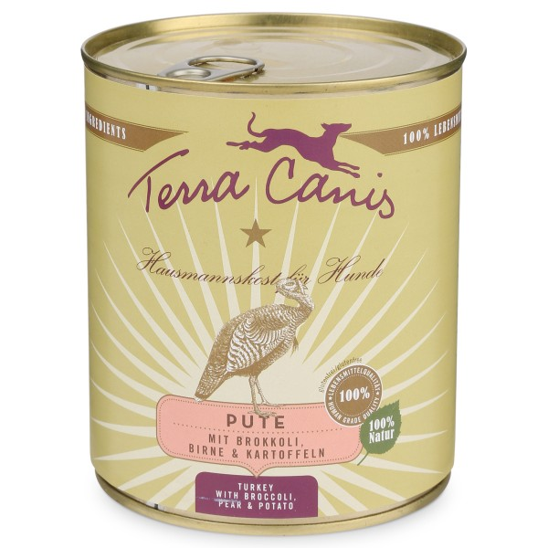 Terra Canis Pute mit Brokkoli, Birne und Kartoffeln