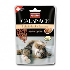 Animonda Cat Snack Hühnchenfleisch & Leinsamen 45g