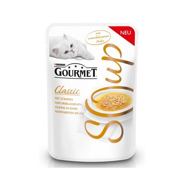 GOURMET Soup Classic mit Streifen naturbelassenen Huhns in einer raffinierten Brühe