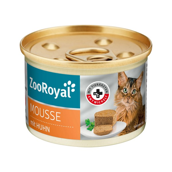 ZooRoyal Mousse mit Huhn