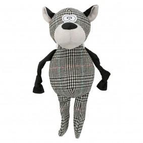 Trixie Hundespielzeug Wolf mit Stimme 32 cm