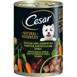 CESAR NATURAL GOODNESS Dose mit Lamm