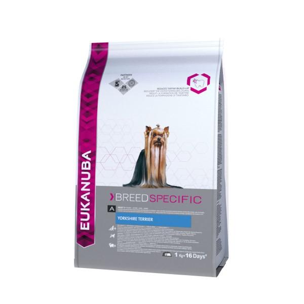 Eukanuba Hundefutter Erwachsene Yorkshire Terrier Huhn