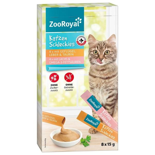 ZooRoyal Katzen Schleckies Geflügel, Leber & Lachs
