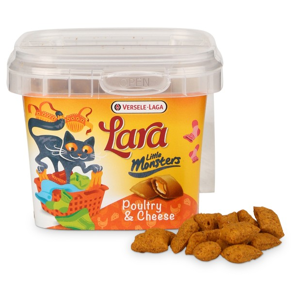 Versele-Laga Lara Little Monsters Crock Poultry & Cheese 75 g