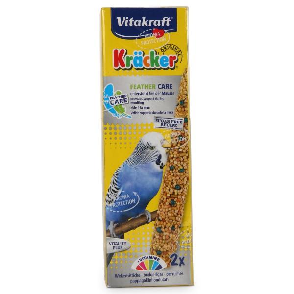 Vitakraft Kräcker Feather Care für Sittiche 2 Stück