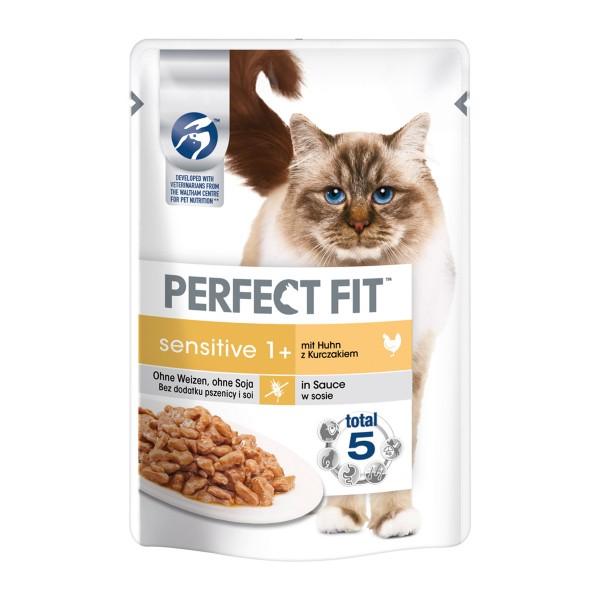 Perfect Fit Katzenfutter Sensitive mit Huhn