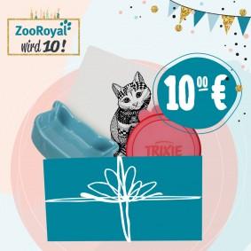 Jubiläums Katzen Sparpaket Futtern & Trinkspaß