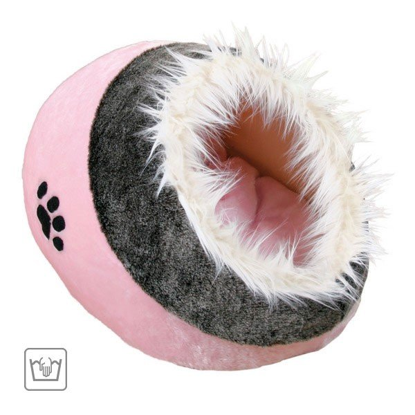 Trixie Kuschelhöhle Minou rosa/grau 36301