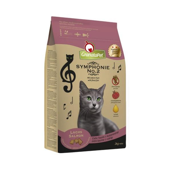 GranataPet Katzen-Trockenfutter Symphonie No. 2 Lachs