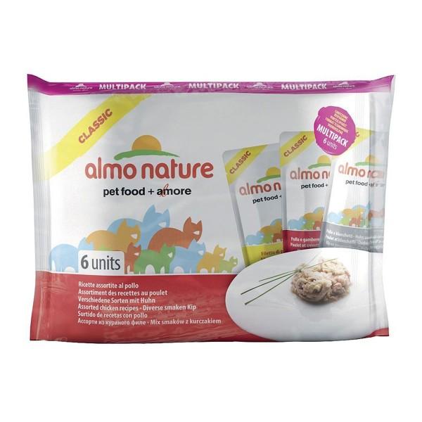 Almo Nature HFC Nature Multi Pack 3x Sorten mit Huhn