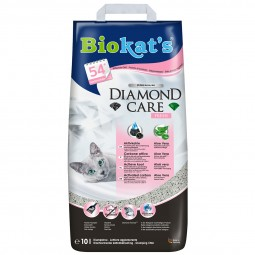 Biokat's Klumpstreu Diamond Care Classic Fresh 10 L